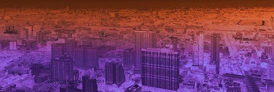 infinite metropolis 004 by Karl David Hill