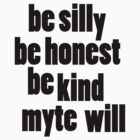 be myte by myte
