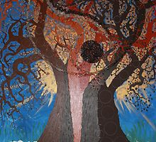 Tree of LiFE (Roots) by LESLEY B