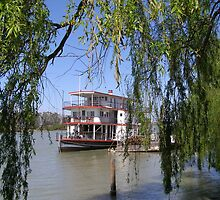 The 'Marion' Riverboat still operating at Mannum. Sth.Australia. by Rita Blom