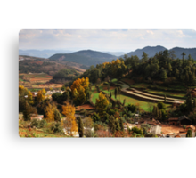Atumn Farmland 2 Canvas Print