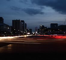 Seoul Rush Hour by Mark Bolton