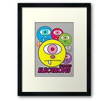 Curious Electrons Framed Print