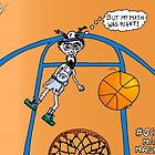 OccupyMarchMadness basketball cartoon by bubbleicious
