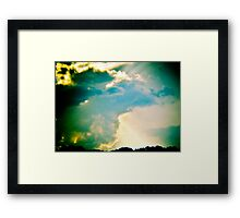Double, Double, Toil and Trouble Framed Print