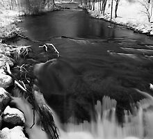 Waupaca River in March by Thomas Young