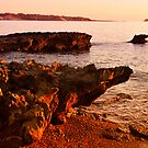 Sunset in the Akamas Peninsula - Cyprus by geirkristiansen