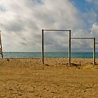 Palaio Faliro Beach by Clockworkmary
