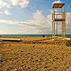 Palaio Faliro Beach II by Clockworkmary