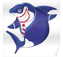Shark of business Poster