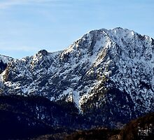 europe, germany, majestic mountain by Daidalos