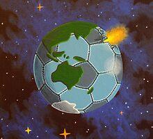 Planet earth football by Markku Laitinen