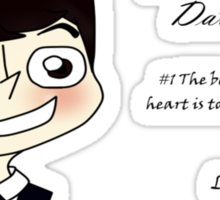 Moriarty's Dating Advice Sticker