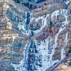 Bridal Veil Falls - February 2012 by Brian D. Campbell