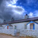 Llanddwyn Island Pilot&#x27;s Cottages by Simon Evans