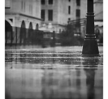 rainy day in Jerusalem Photographic Print