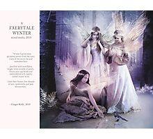 12 2012 Faerytale Wynter Photographic Print
