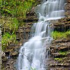 Waterfall in the Mountains by XxJasonMichaelx