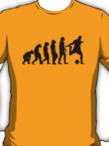 Football Evolution (white) T-Shirt
