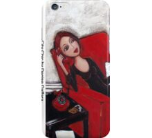 City Chic on the phone iPhone Case/Skin