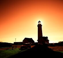 Hirtshals Lighthouse by geirkristiansen