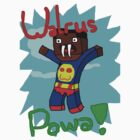 Super Walrus Powa! Shirt Design! by Amonitas8475