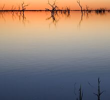 Menindee Dawn by Michael Egan