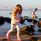 Afternoon fun at the rockpools by Steve Read