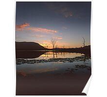 """Live"" ∞ Lake Somerset, QLD - Australia Poster"