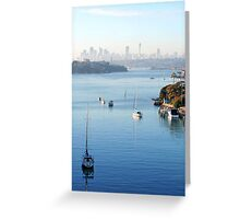 Sydney Harbour 3 Greeting Card