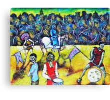 The Zombies Parade Canvas Print