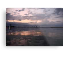 Milwaukee Horizon Cityscape  Metal Print