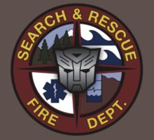 Ratchet Search And Rescue Small Logo by Christopher Bunye