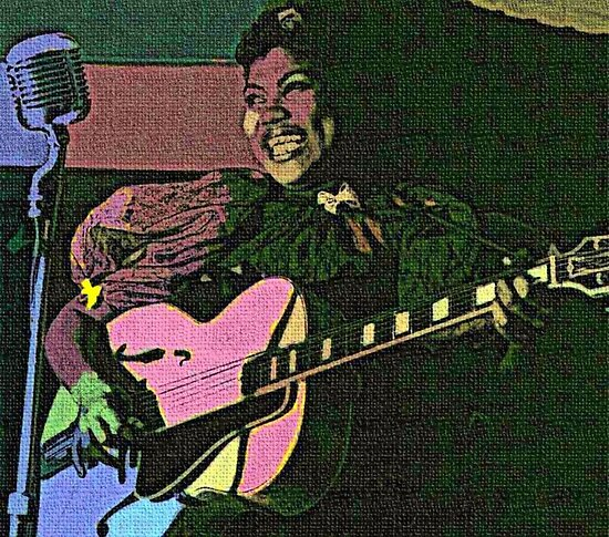 SISTER ROSETTA THARPE by Terry Collett