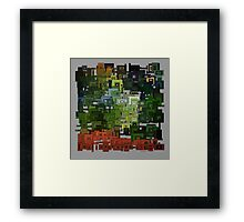 Aztec Forest Framed Print