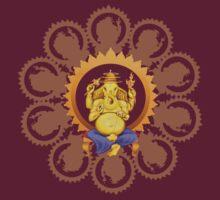 Ganesha Lord  of Beginnings Tee by Ganeshalove