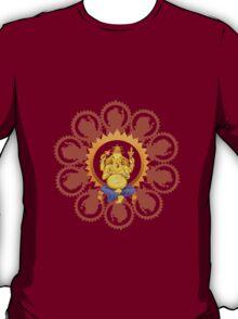 Ganesha Lord  of Beginnings Tee T-Shirt