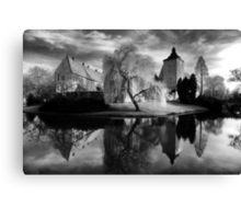 Castle Burgsteinfurt Canvas Print