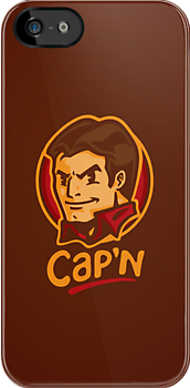 Cap'n! - IPHONE CASE by WinterArtwork