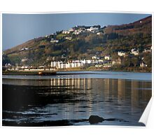 Fahan Village From Inch Poster