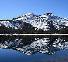 Donner Lake Reflection by MindyLinford