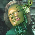 Portrait of a Female Futurist 2. by - nawroski -