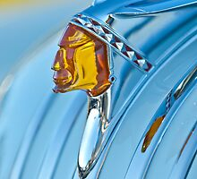 1948 Pontiac Hood Ornament by Jill Reger
