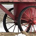 Red Wagon Wheels by nikspix