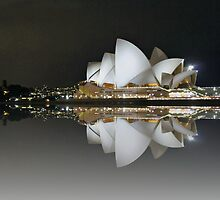 Sydney by Night by Fern Blacker