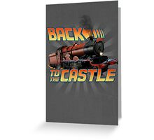Back to the Castle! Hogwarts Express Greeting Card