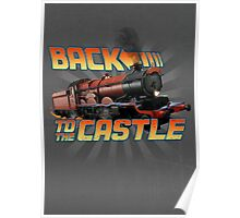 Back to the Castle! Hogwarts Express Poster