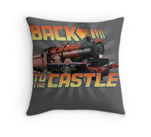 Back to the Castle! Hogwarts Express Throw Pillow