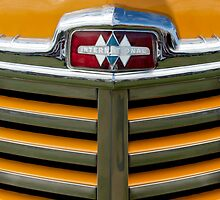 1948 International Grille Emblem by Jill Reger