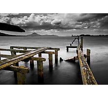 Tokaanu Deadwood Wharf Photographic Print